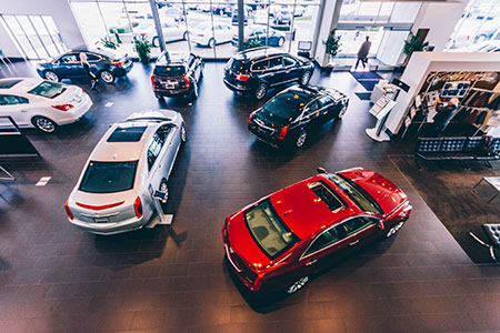 showroom finish The U.S. auto industry will reach an estimated 16.4 million in vehicle sales in 2014.