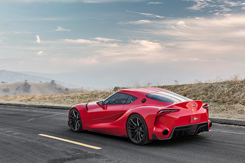 Toyota's FT-1 Concept Leaves Virtual Track for Detroit Auto Show