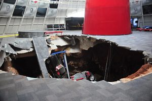 Chevrolet to Restore Historic Corvettes Damaged in Sinkhole Collapse