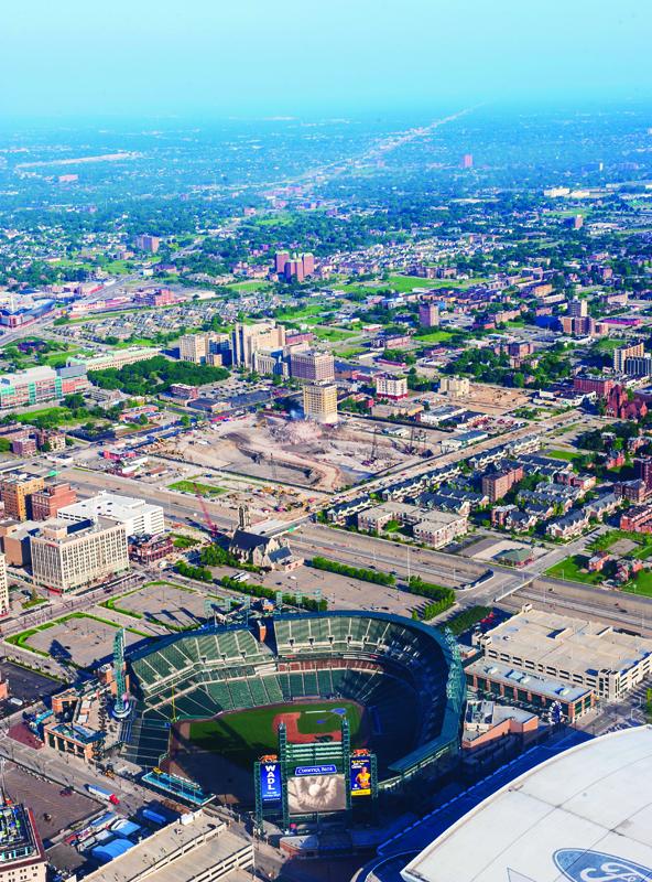 Detroit Bird's eye view