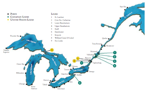 Port Outlook for 2017 Great Lakes-Seaway Season Projects Growth