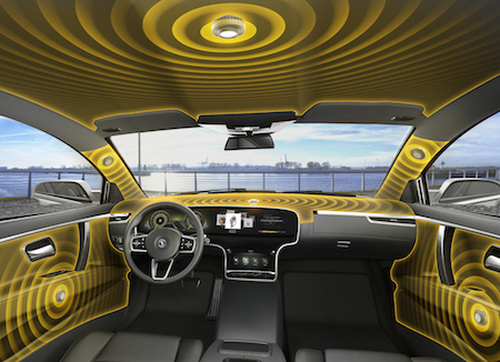 Continental Reinvents Automotive Audio Technology, Actuators Replace Speakers