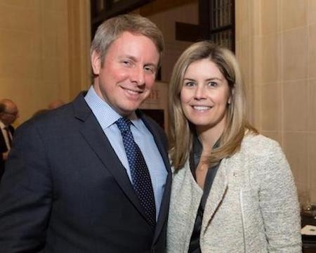Henry and Emily Ford III at the 2018 Beyond Basics Annual Dinner
