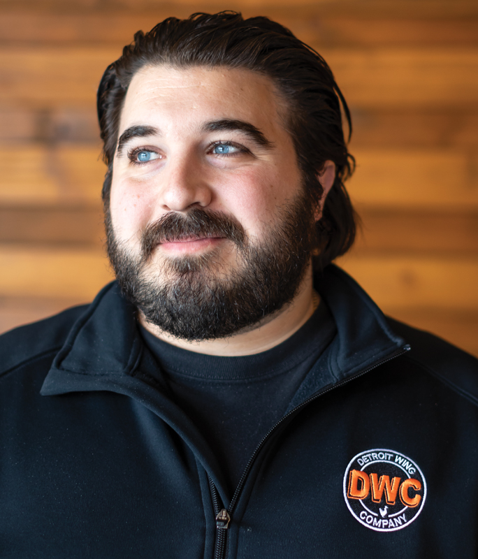 Gus Malliaras, owner of Detroit Wing Co.
