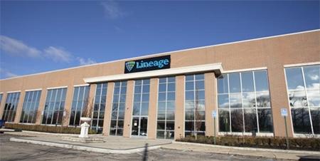Lineage Logistics HQ in Novi