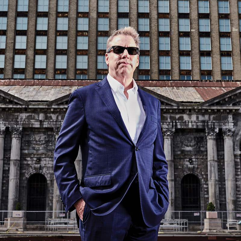 Bill Ford at Michigan Central Station