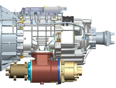 Eaton 48-volt mild hybrid accessory drive