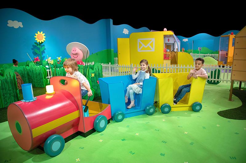 Peppa Pig World of Play Dallas