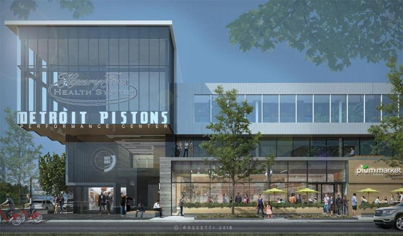 Henry Ford Detroit Pistons Performance Center
