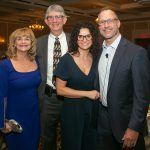 Kathy and Frank Rewold, Carrie and Chris Spielman