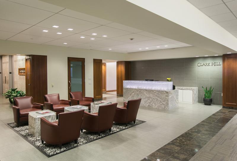 Clark Hill office lobby