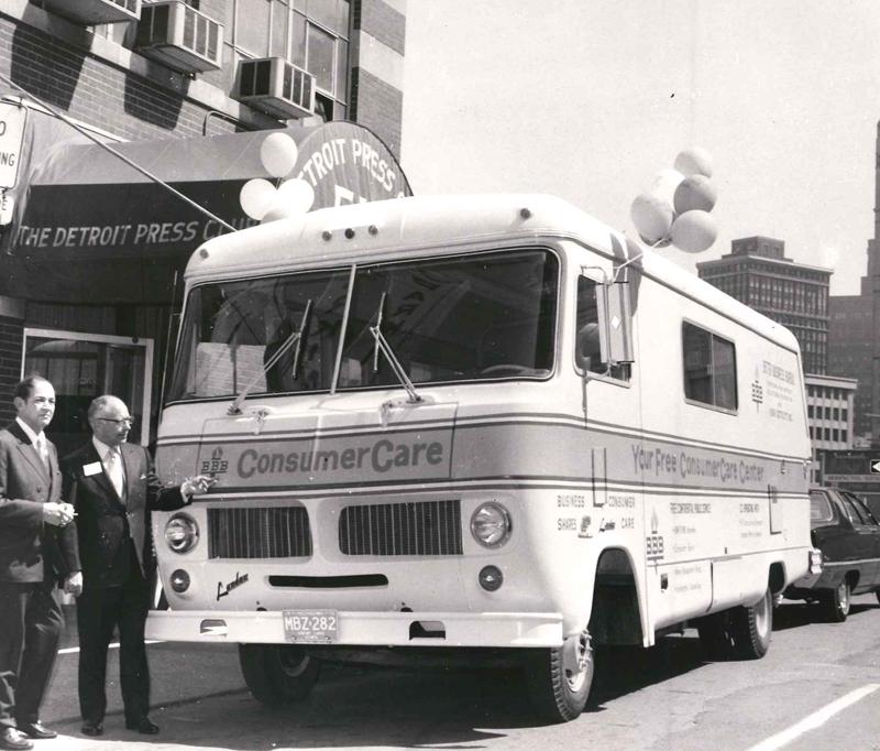 Better Business Bureau Consumer Care bus