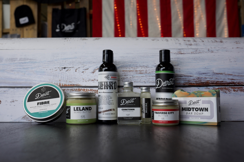 Detroit Grooming Co. products