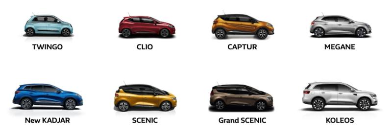 Renault vehicles