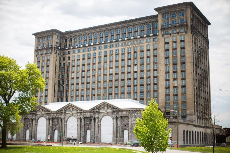 Ford's Michigan Central Station