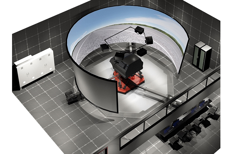 Multimatic vehicle development and driving simulation center