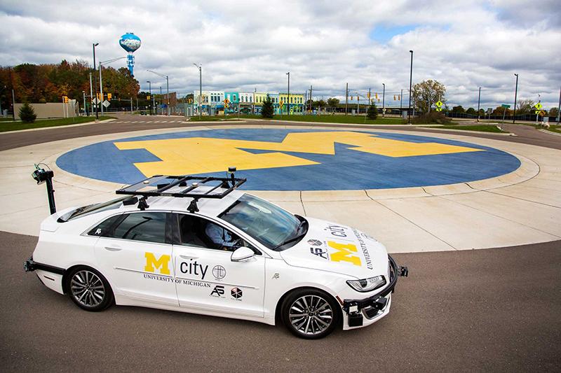 U-M self-driving car