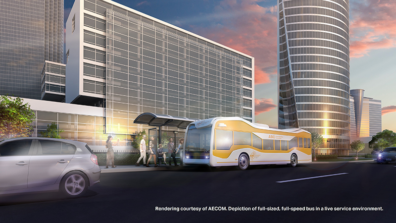 automated bus rendering