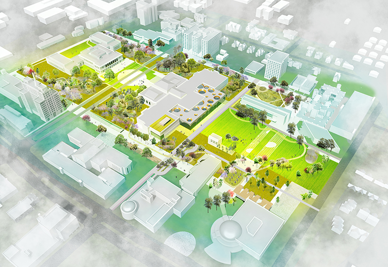 Design DIA Plaza | Midtown Cultural Connections rendering