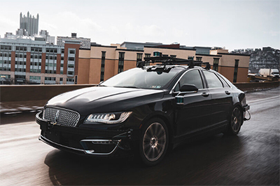 Lincoln with the Aurora Driver self-driving platform