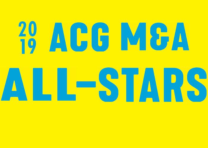 2019 ACG M&A All-Stars