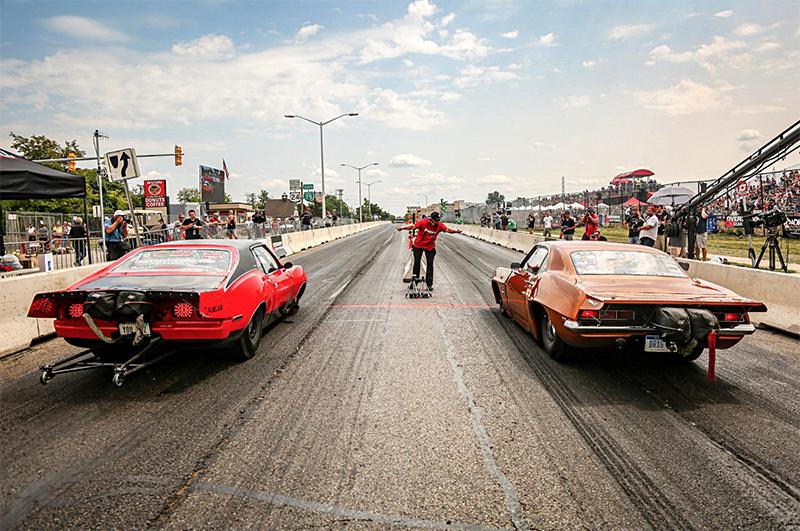 Roadkill Nights Powered by Dodge street racing