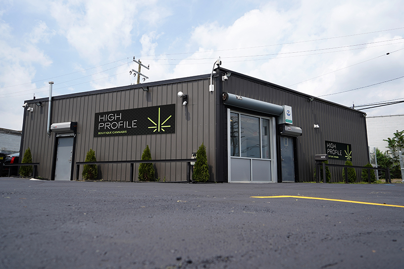 High Profile cannabis dispensary