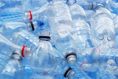 empty water bottles