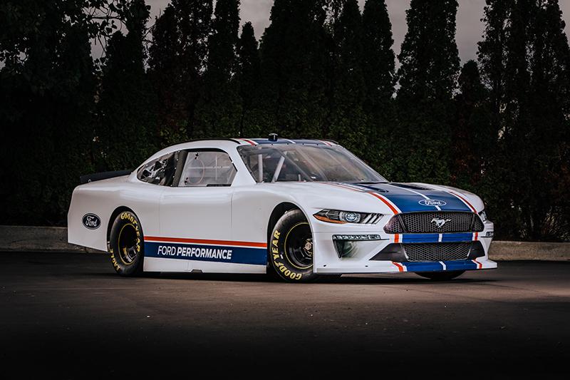 2020 NASCAR Xfinity Series Mustang racecar