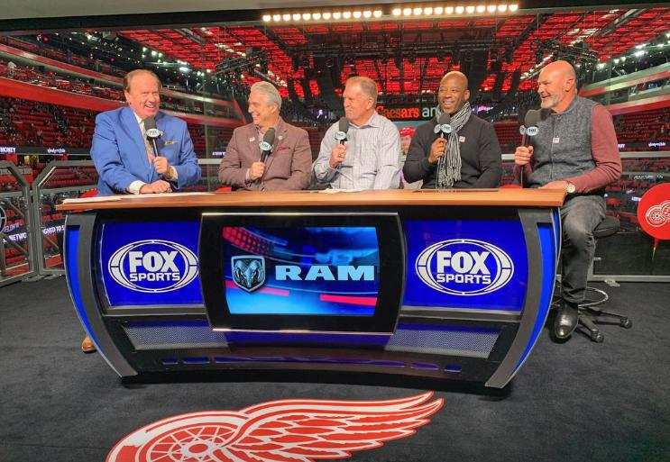 Fox Sports Detroit broadcast