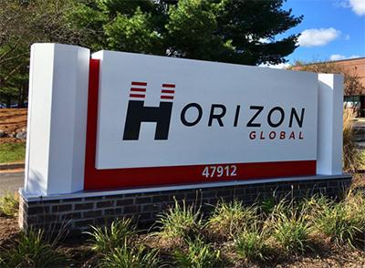 Horizon Global Corp. sign