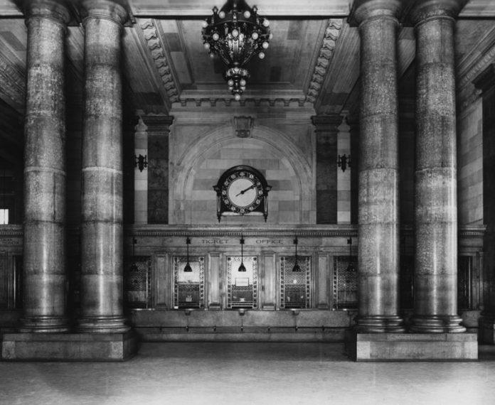 Michigan Central Station lobby
