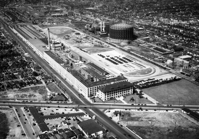 Lincoln Motor Co.'s first plant