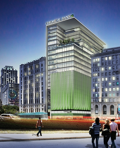 TCF Financial Corp. headquarters rendering