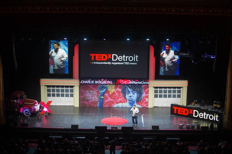 Charlie Wollborg at TEDxDetroit