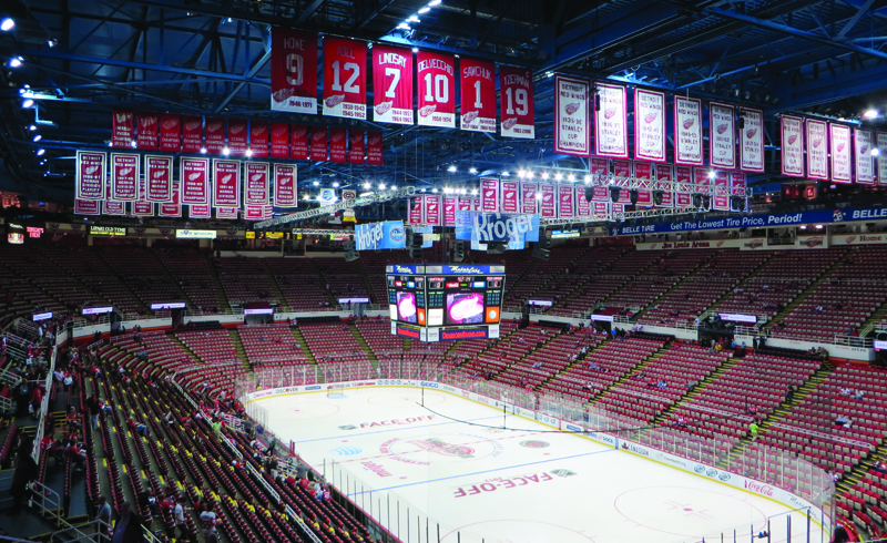 The Joe Louis Arena