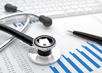 stethoscope, financial data