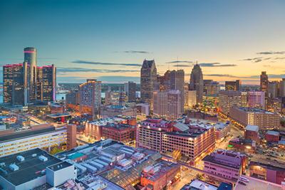 Detroit skyline