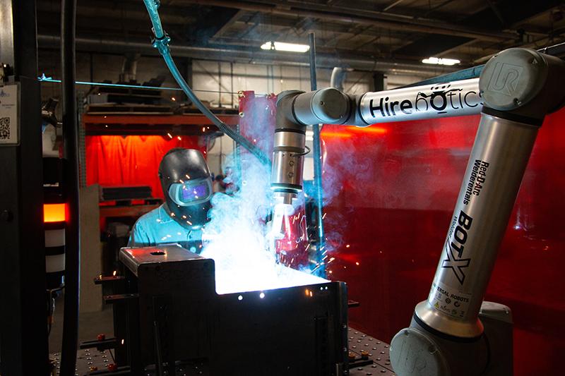 Hirebotics BotX Welder
