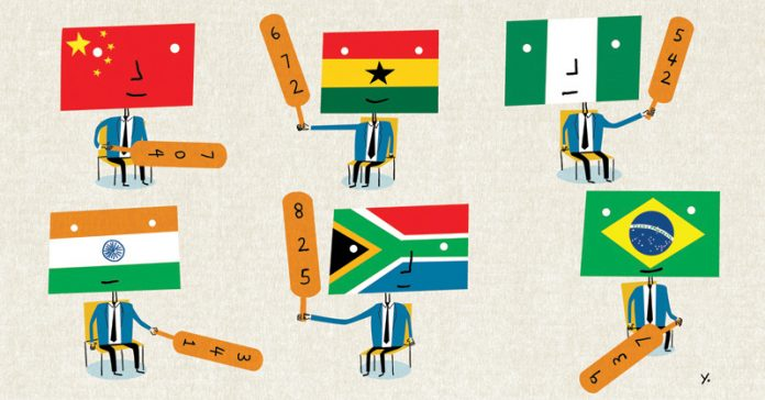 Africa investment illustration
