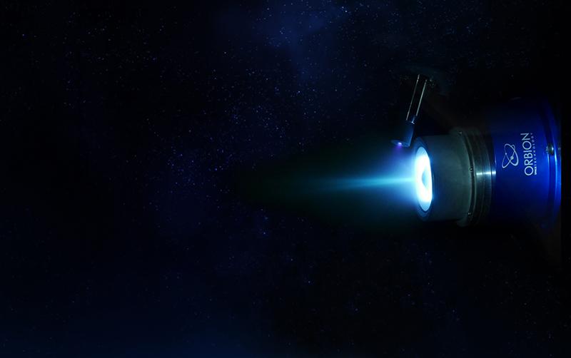 Orbion Space Technology Aurora plasma thruster system