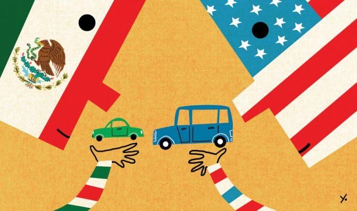 U.S. trade illustration