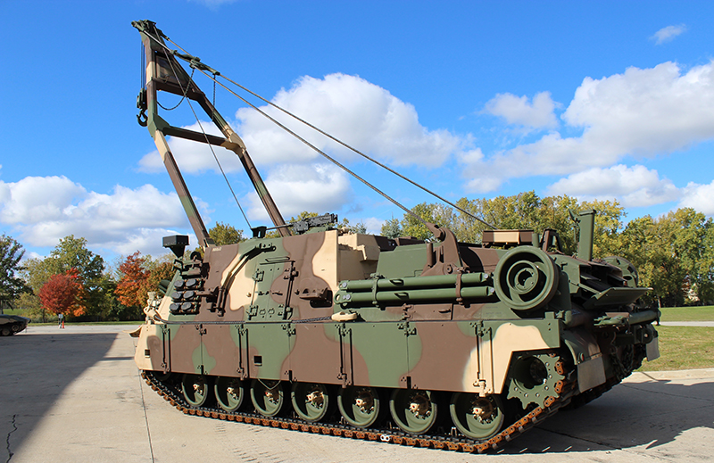 BAE Systems' M88A3 configuration