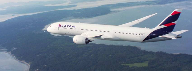 Latam Airlines Group plane