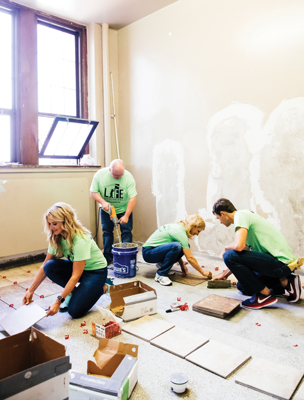 30 in Their Thirties honorees help renovate the Durfee Innovation Society
