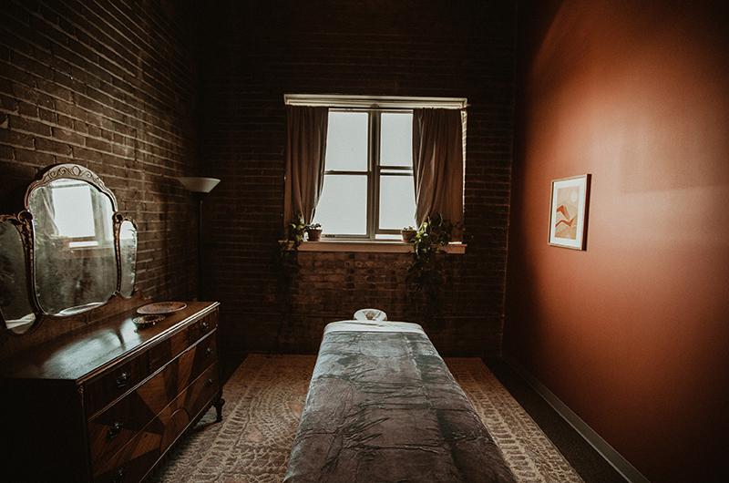 Fauna Holistic massage room