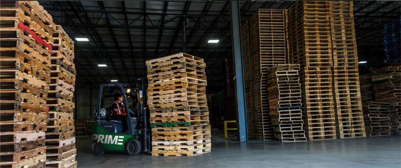 Prime Woodcraft Inc. pallets