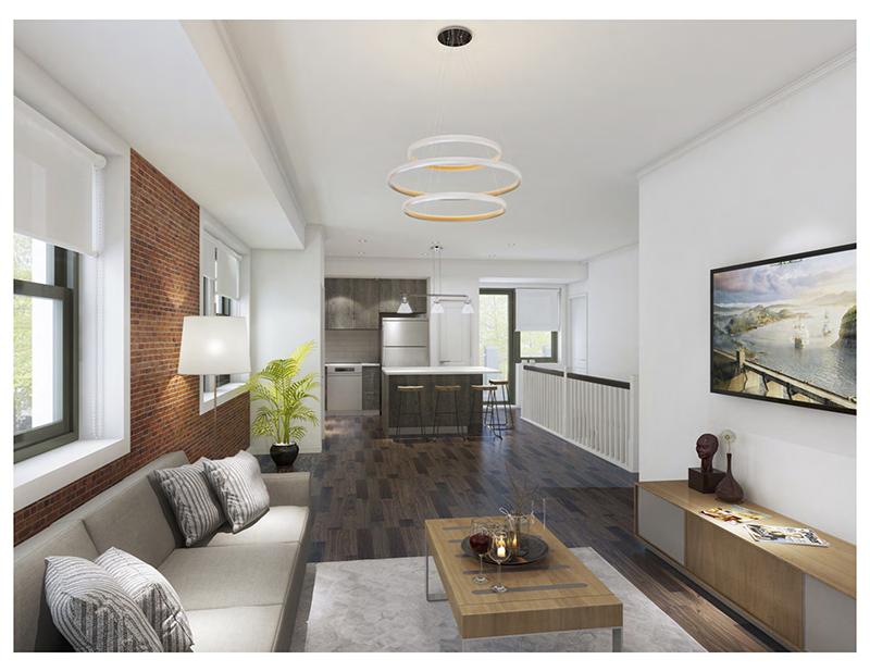 apartment in Method Development's Brush Park mansion