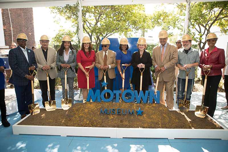 Motown Museum groundbreaking