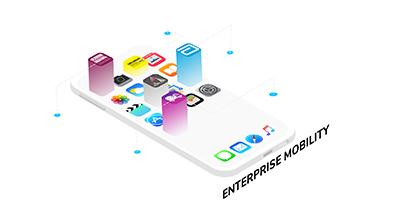 Enterprise mobility illustration